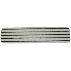 26 inch '3M™ Easy Scrub' like pad - White with Black Stripes - Hook and Loop Fastener