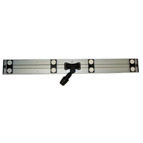 36 inch Aluminum Mop Frame - Rectangular - 8 Fasteners