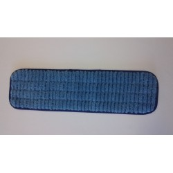 18 inch Scrubber Pad - Blue - Rectangular - Piped - Velcro 18""