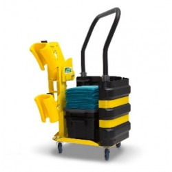 Dolly Handrail Cleaning System