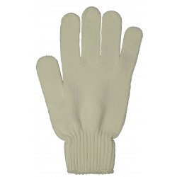 5 Finger Cleaning Glove - White