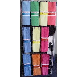 Microfiber Starter Kit, Color Coded, Cloths & Mop Pads