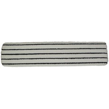 26 inch '3M™ Easy Scrub' like pad - White with Black Stripes - Velcro