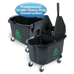26 Qt Down Press Wringer Bucket Combo