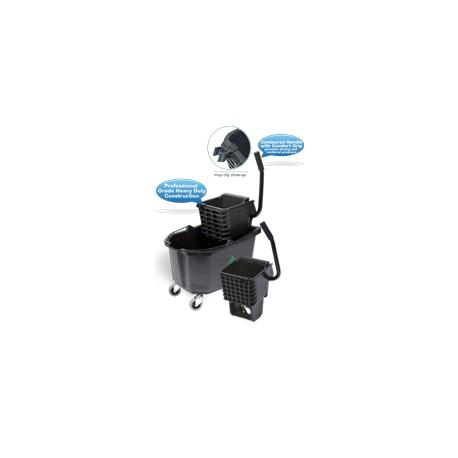 26 Qt Side Press Wringer Bucket Combo