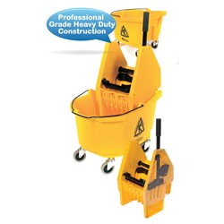 26-QT Heavy Duty Down Press Wringer Bucket Combo