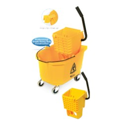 26-QT Heavy Duty Side Press Wringer Bucket Combo