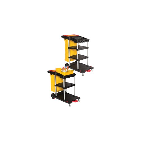 3 Shelf Janitor Auto Cart