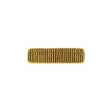 24in Grout Cleaning Pad - Gold/Black - Piped - Velcro