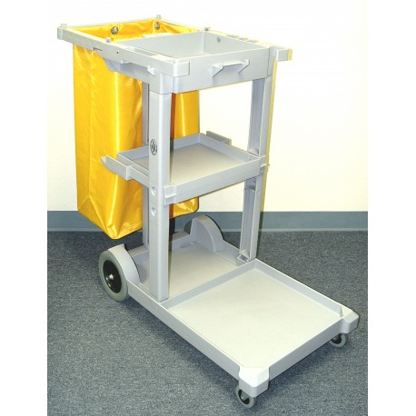 2 Shelf Janitor Auto Cart