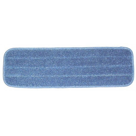 18 inch Wet Pad - Rectangular - Blue - Stitched - Hook and Loop Fastener